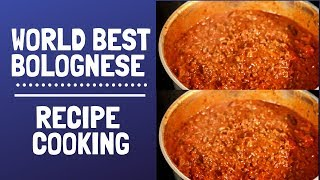 The World Best Bolognese Recipe | Perfect Beef Bolognese To Make At Home