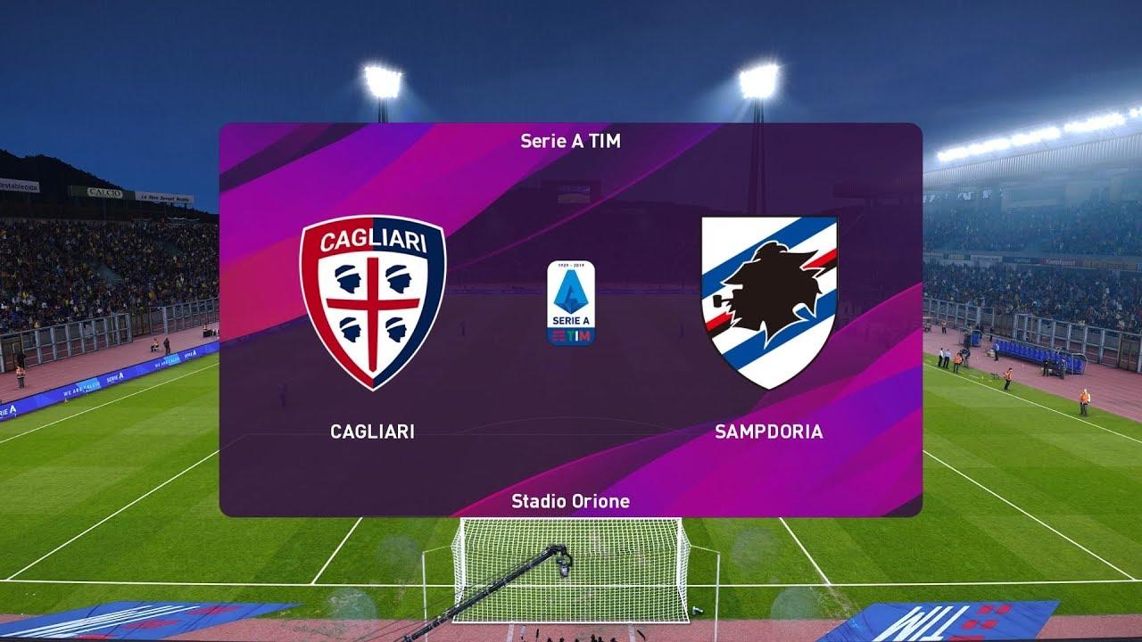 Xem lại Cagliari vs Sampdoria, Serie A 3/12/2019
