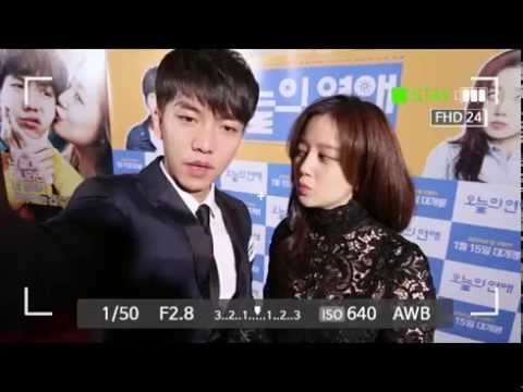 Love Forecast Lee Seung Gi x Moon Chae Won Video Message
