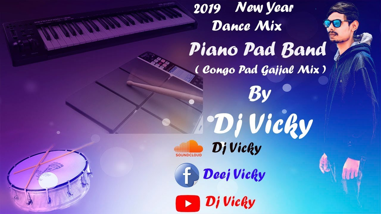 Piano Pad Band ( Congo Pad Gajjal Mix ) By Dj Vicky # Download Link In  Description
