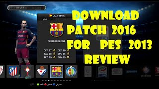 PES 2013 PATCH 2016 - REVIEW  PC/HD