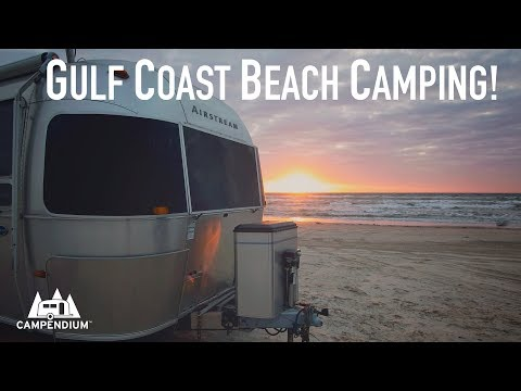 BEST Gulf Coast Beach Camping!