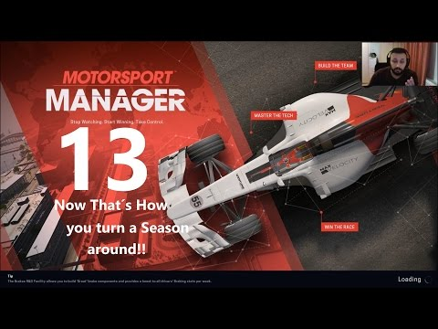 That´s how you turn a season around! Motorsport Manager Difficult Challenge!