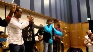 Hachalu Hundessa - Sanyii Mootii - Live Show @ Washington DC (Oromo Music New 2014)