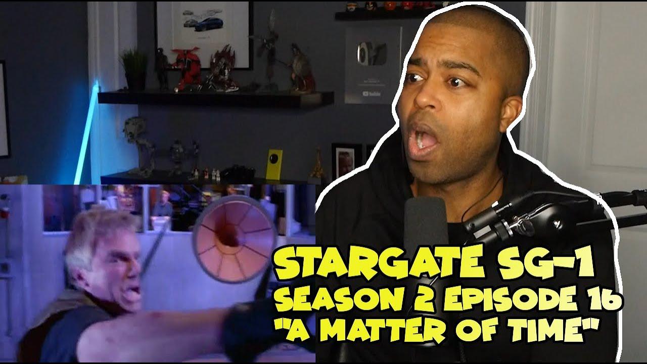 """Stargate Stargate SG-1 Season 2 Episode 16 """"A Matter of Time"""" ☄️ JV Reaction!"""