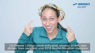 Des Linden, Trained, Ran and Conquered