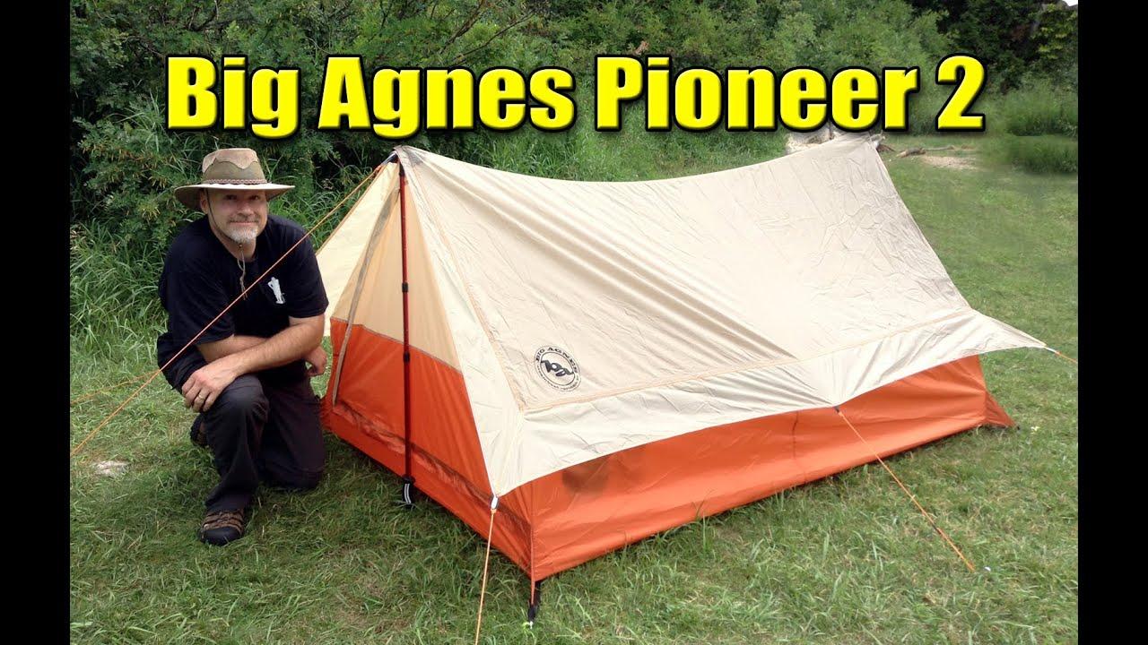 Big Agnes Guardia Station 8 cuerpo Accesorio Carpa Basecamp montañismo refugio