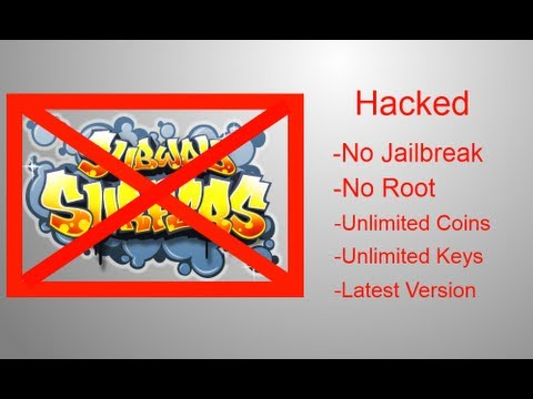 Subway Surfers Beijing China Keys / Coins Hack (iOS/Android) No Root or  Jailbreak iFunbox/APK