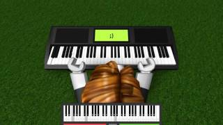 Roblox piano: Gravity falls theme *Advanced*