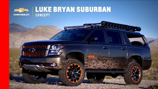 Luke Bryan Chevy Suburban Concept