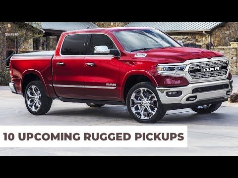 10 Upcoming Pickup Trucks Models To Buy in 2020 Year