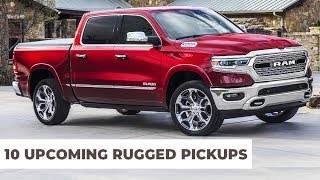 10 Upcoming Pickup Trucks Models To Buy in 2020 Year