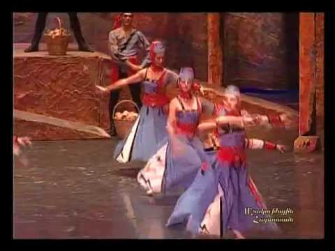 «Балет Гаянэ» Национальный академический театр оперы и балета имени А.Спендиаряна