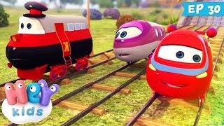 Trenulețele 🚂 Cunoașterea e putere (ep. 30) | HeyKids - desene animate