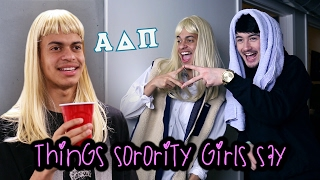 Sisters had rushes the Sorority with fun
