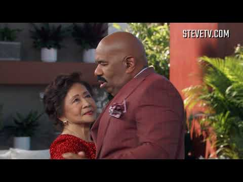 80-Year-Old Teaches Steve Harvey How To Tango