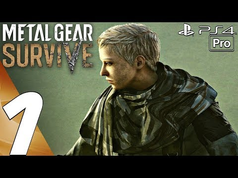 Metal Gear Survive - Gameplay Walkthrough Part 1 - Prologue (Full Game) PS4 PRO