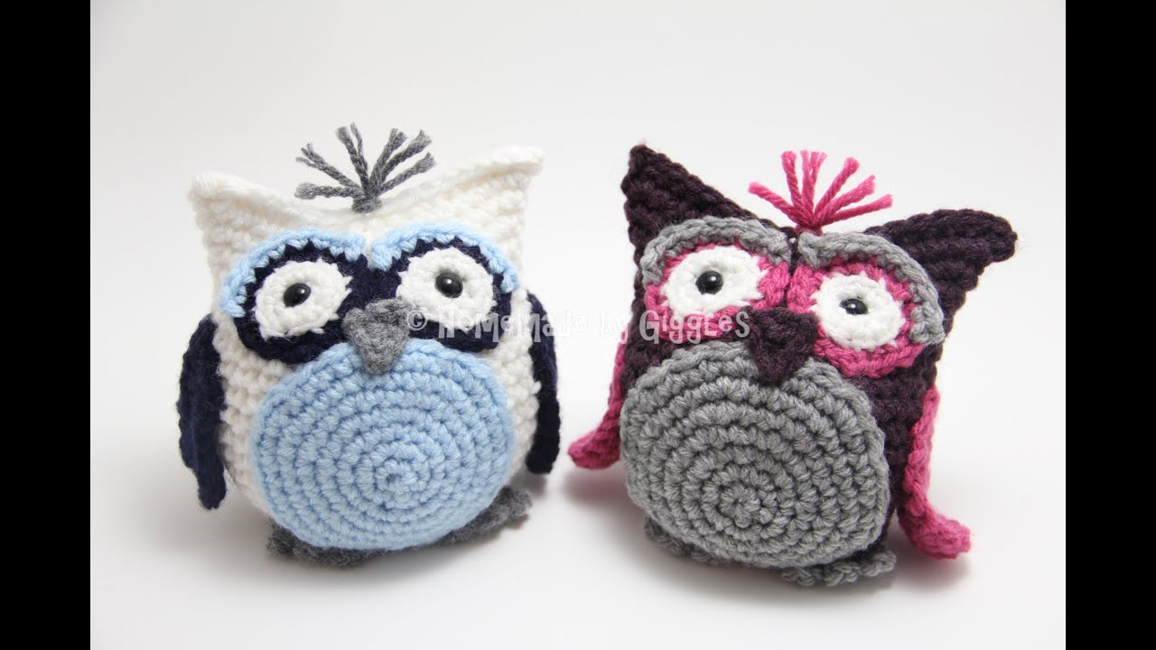 Free Amigurumi Owl Pattern : Bean bag owl assembly instructions free crochet pattern