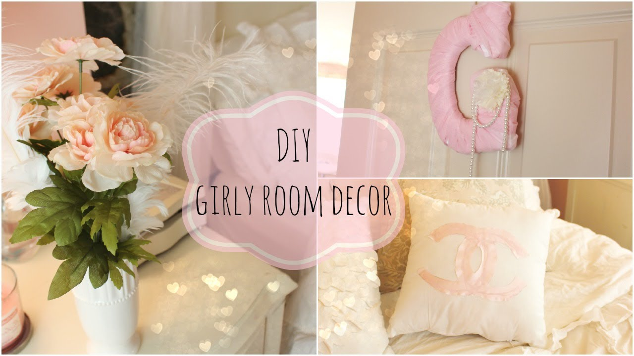 diy girly room decor youtube