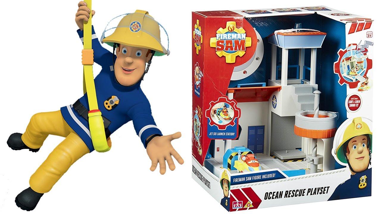 Sam il pompiere apriamo la caserma di salvataggio