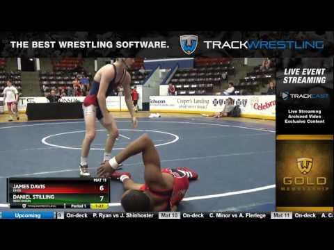 1224 Junior 138 James Davis Ohio Vs Daniel Stilling Wisconsin 6332938104