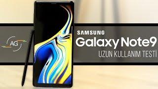 Samsung Note 9: Uzun Kullanım Testi