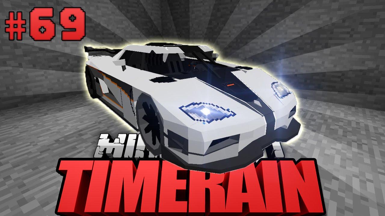 SCHNELLSTES AUTO Im SPIEL Minecraft Timerain DeutschHD - Minecraft timerain spielen