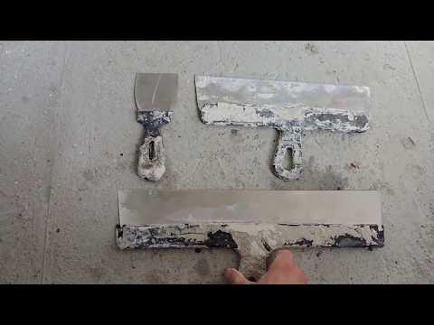 видео: Как научится шпаклевать правильно, зачем вырезы на шпателе. РемонтСделайсам.Шпаклевка.Шпатель
