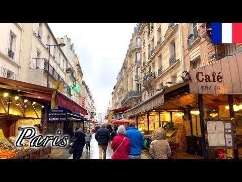 🇫🇷【4K】Paris Winter Walk - Avenue Denfert-Rochereau (February, 2021) -