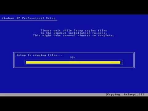 How To Format And Install Windows XP 32/64 Bit [HD]
