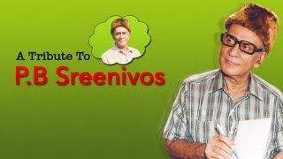A tribute to PB Sreenivos | Tamil Audio Jukebox | Vol 3