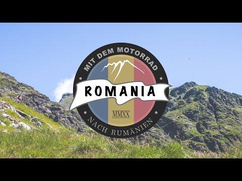 ROMANIA 2020. Mit dem Motorrad nach Rumänien.