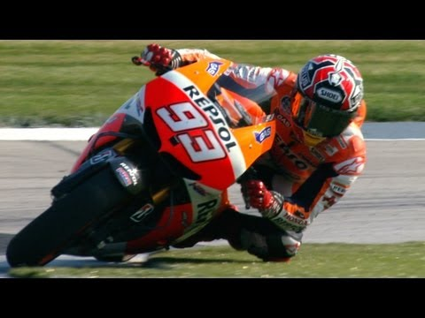 Marc Marquez the Indianapolis lawn mower