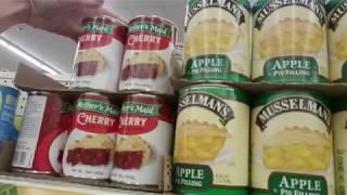 Dollar Tree | Canned Goods Shelf Organization