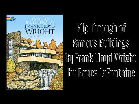 Frank Lloyd Wright Postcard Coloring Book | תמונות DIY | Frank ... | 360x480