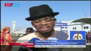 Tanzanian star musician, Diamond is in Town courtesy of Radio Maisha