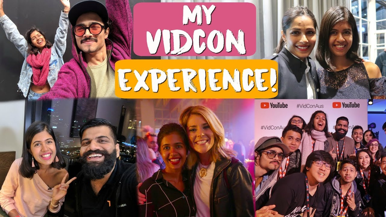 #SejalVlogs: My VidCon Experience! Meeting BB Ki Vines, Technical Guruji, Grace Helbig, Freida Pinto