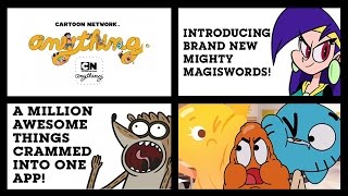 Cartoon Network Anything - A Million Things Crammed Into One App (iOS/iPad Gameplay)