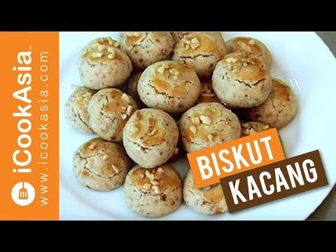 Resepi Biskut Kacang   Try Masak   iCookAsia