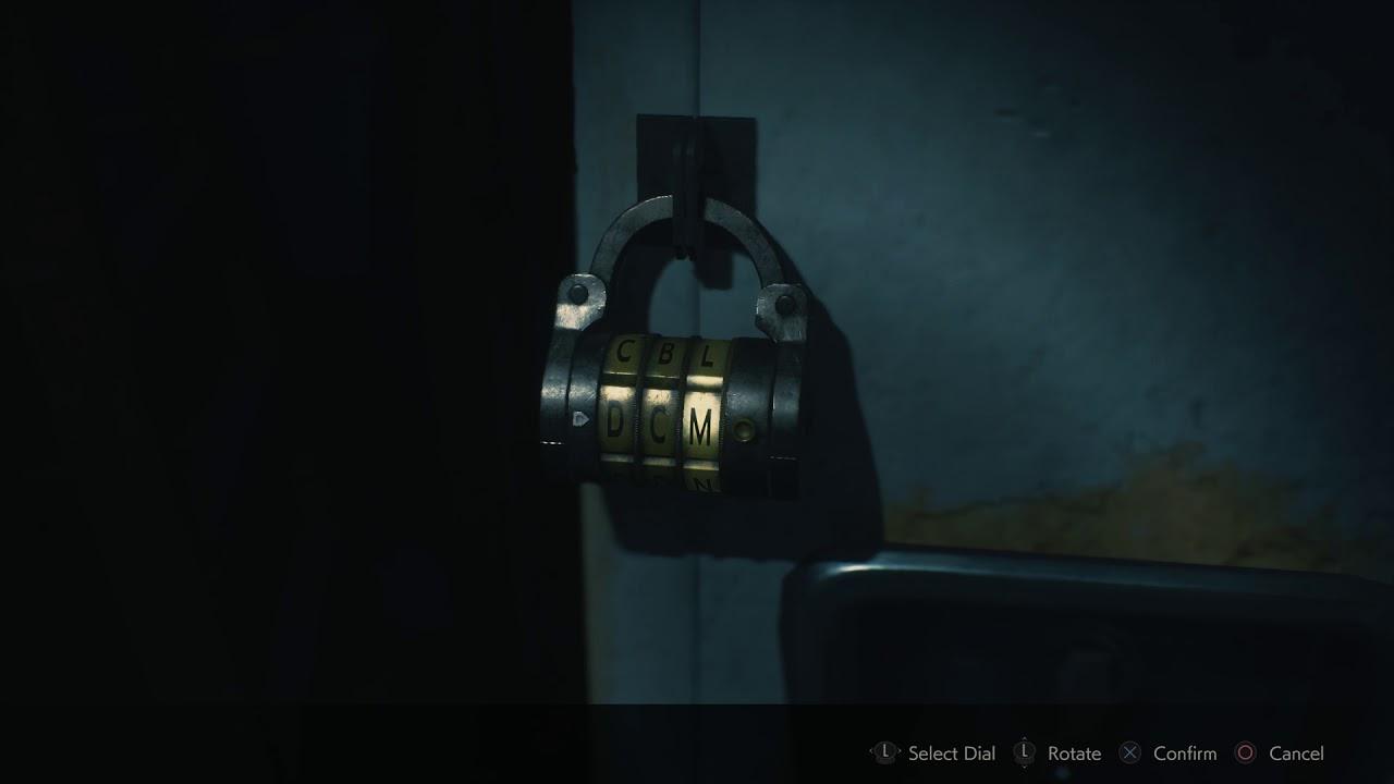 Resident Evil 2 3f Locker Combination Guide Youtube