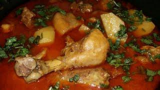 simple Aaloo chicken recipe| recipes in hindi