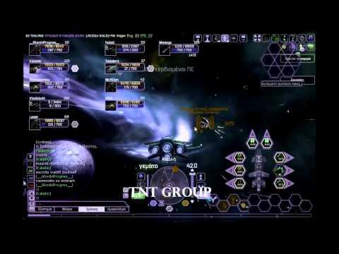 Battlestar Galactica online TNT Group vs Cylons Epic battle