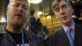Anywhere but Westminster: rotten fruit and the Rees-Mogg ambush