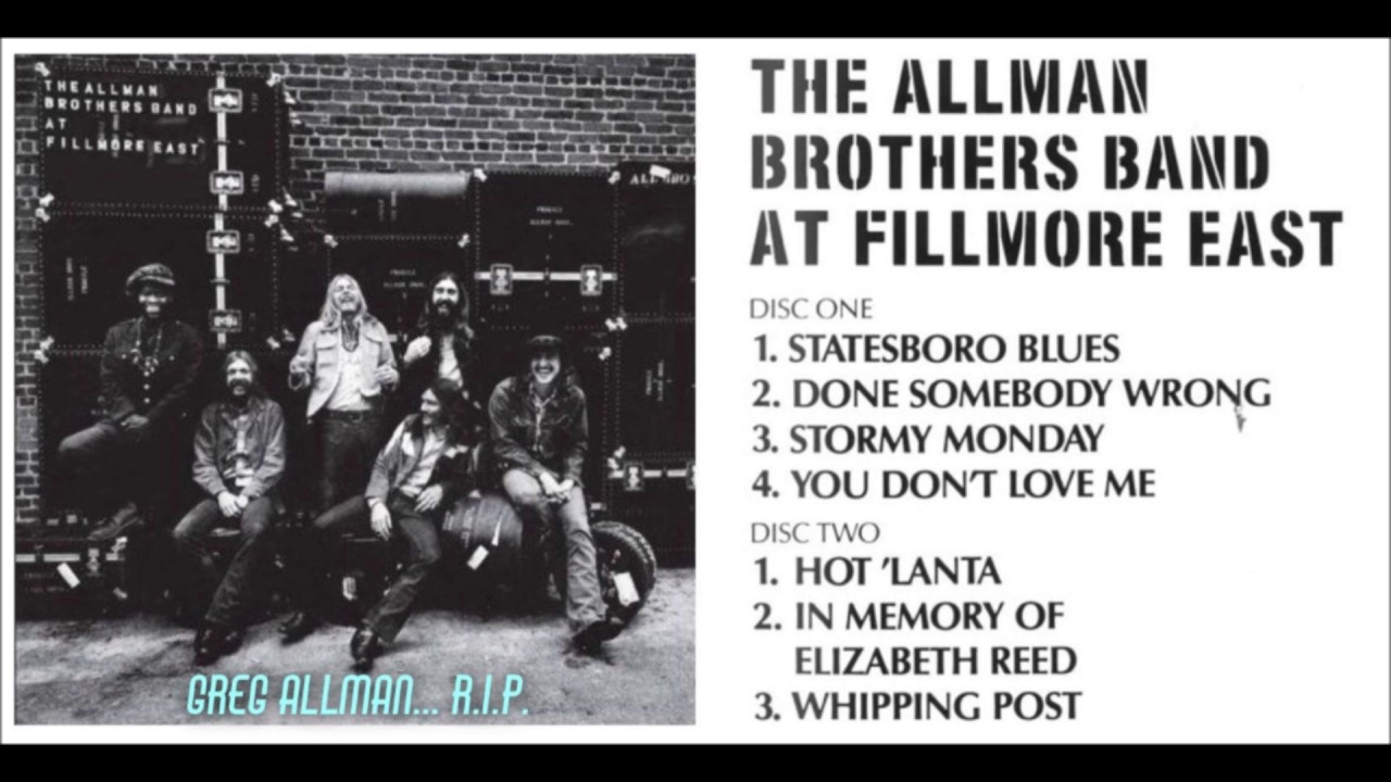 The Allman Brothers Band - Live At Fillmore East [2 SACD ...