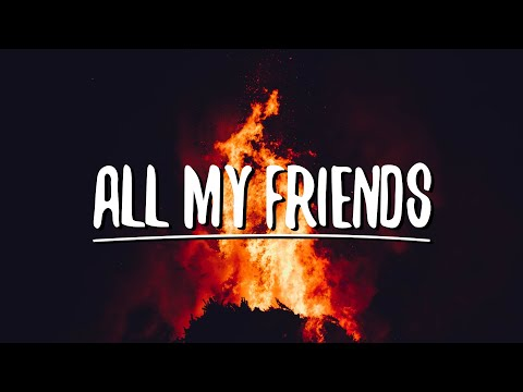 21 Savage -  All My Friends Ft.Post Malone (Lyrics)