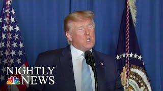 Trump 'Prepared To Take Whatever Action Is Necessary' If Iran Retaliates   NBC Nightly News