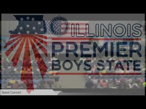 Illinois Boys State - Monday Evening Assembly