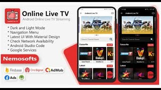 Android Online Live TV Streaming App Nulled 2020