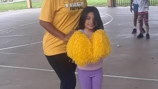 Lillie is a Cheerleader