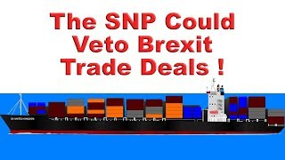 🚢 SNP Could Veto Brexit Trade Deals? What ....! 🚢